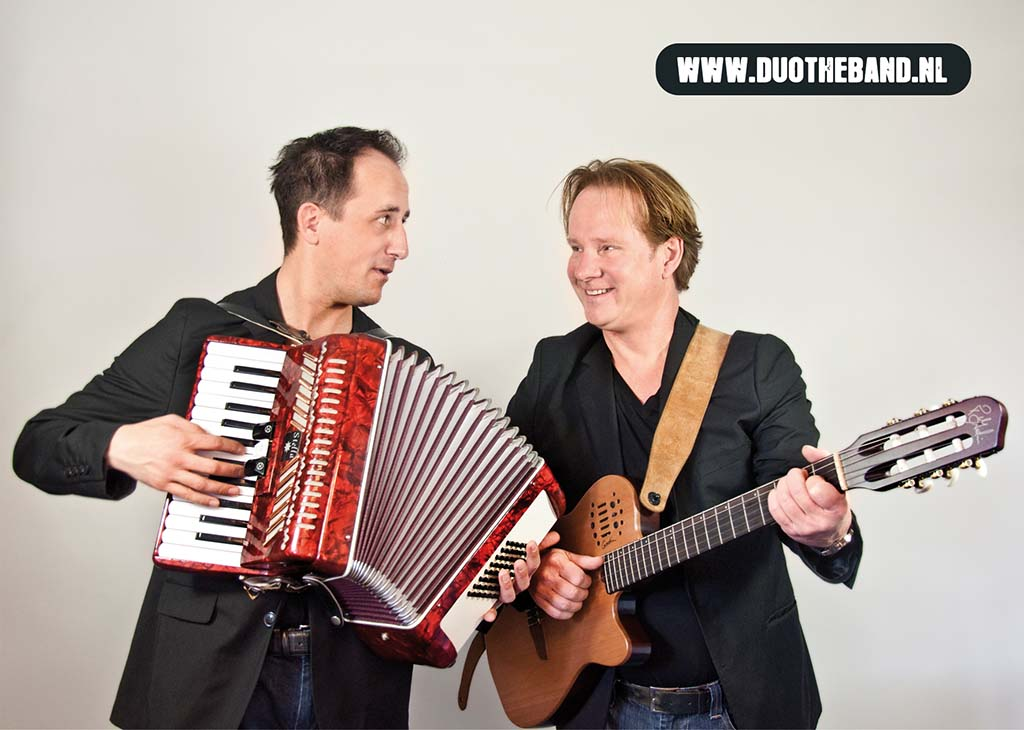 Henry Brouwers, Ferdie Broecks, Duo De Band, The Band, personeelsfeest duo band, duo band camping