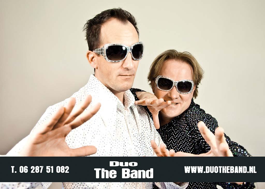 Duo The Band, Duo Band boeken, Duo inhuren, Live muziek duo, Live zang met instrumenten, Coverduo, feestduo, Band bruiloft